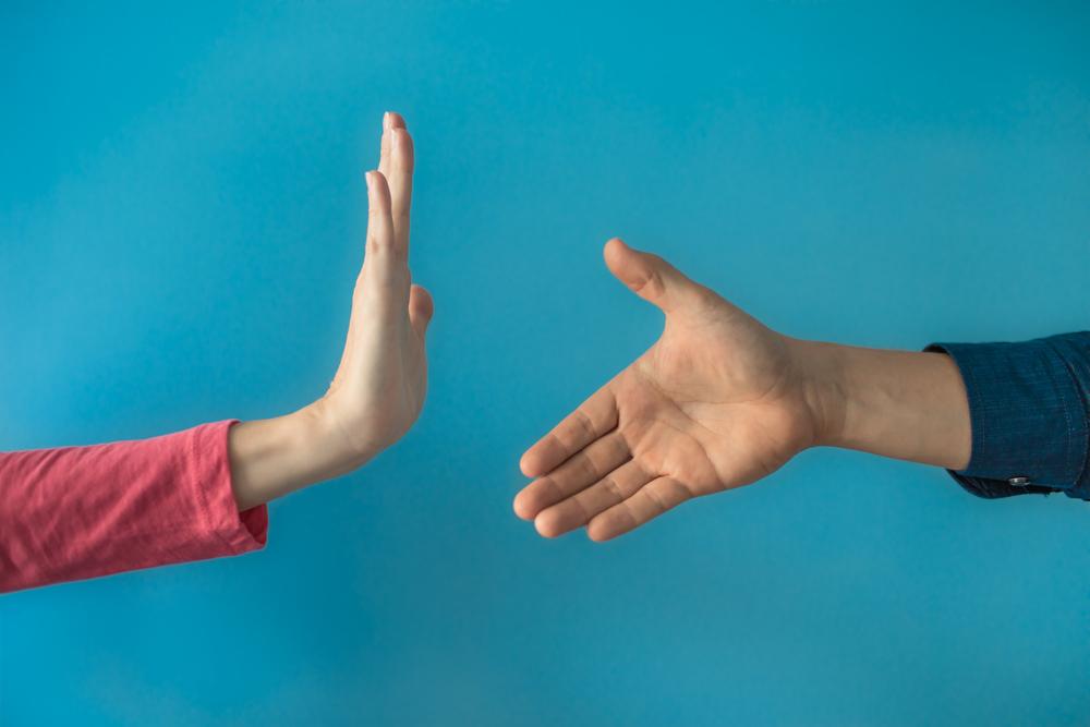 Hände Schmierinfektion Infektion